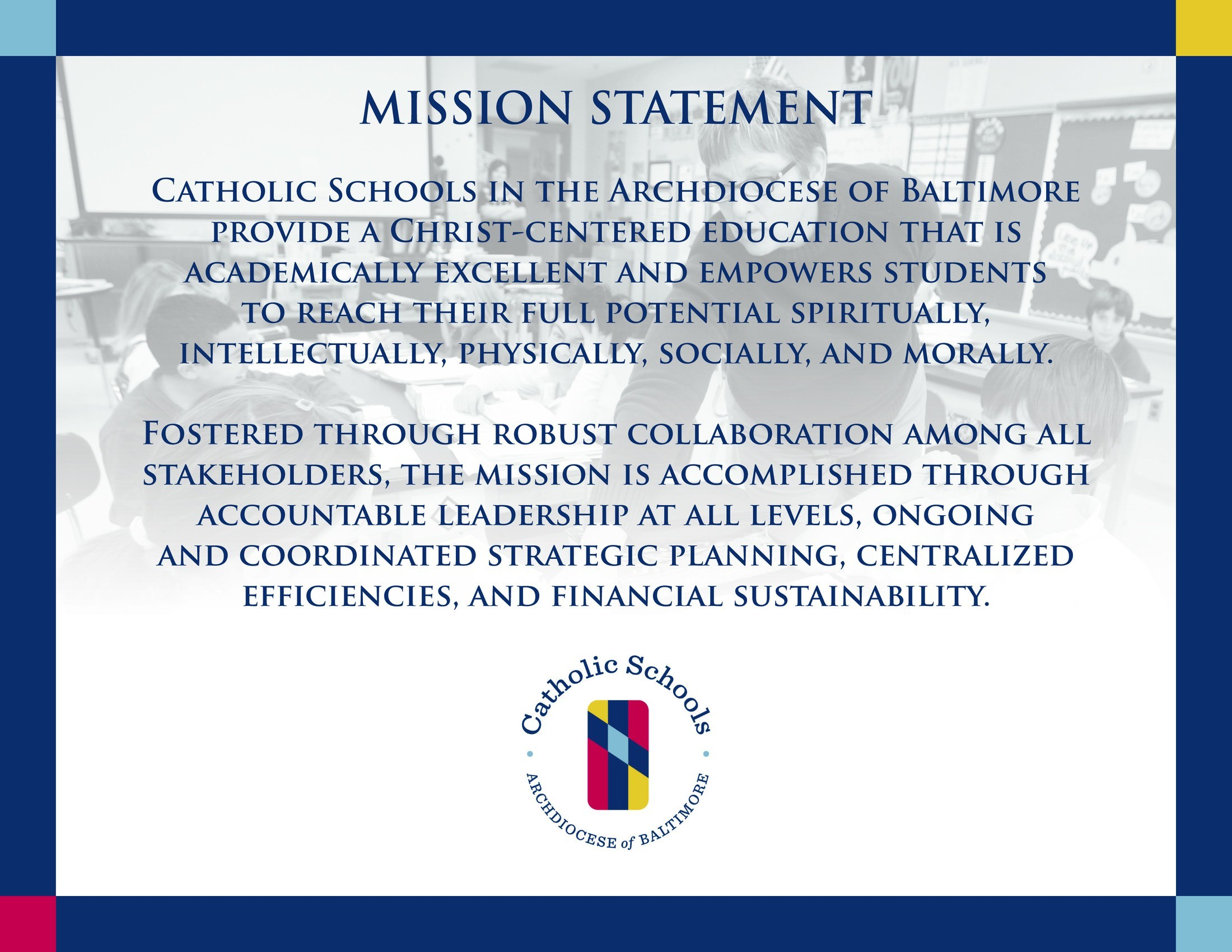 Archdiocescan Mission Statement
